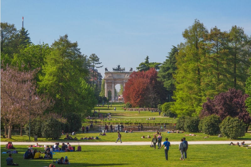 sempione park-What to do in Milan