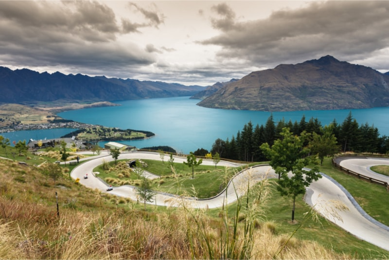 Skyline Luge - Fun things to do in New Zealand