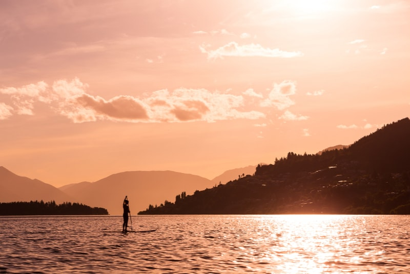 Stand up paddle New Zealand - Fun things to do in New Zealand
