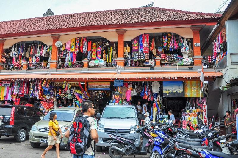 Sukawati Art Market - coisas para fazer em bali