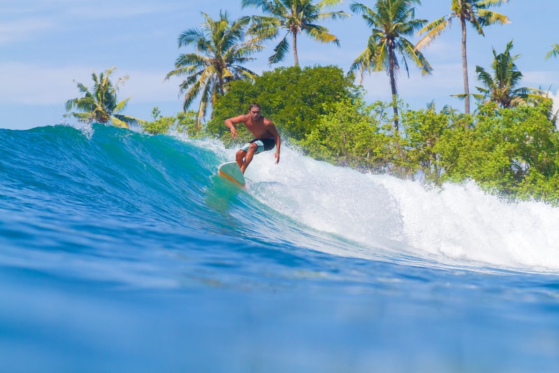 Surfing Bali - Fun things to do in Bali