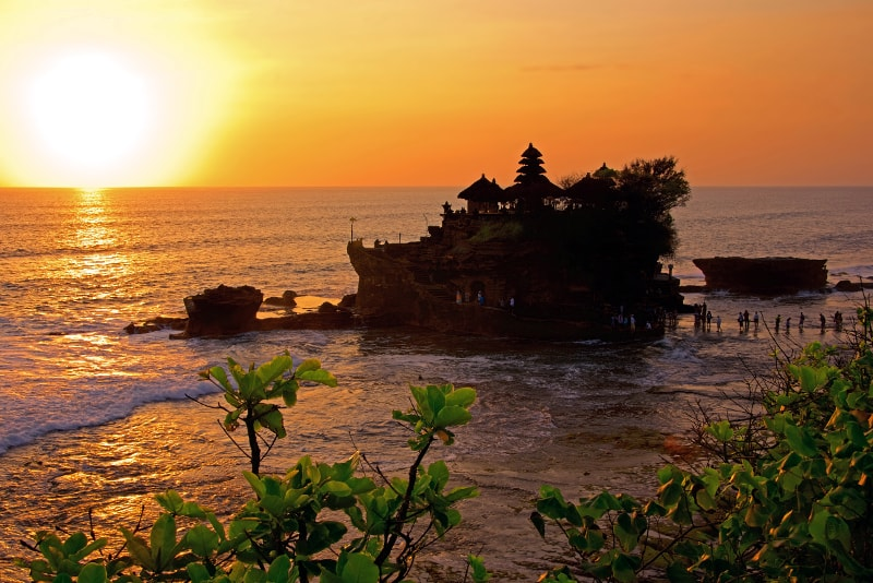 Tanah Lot Temple Sunset - Fun things to do in Bali