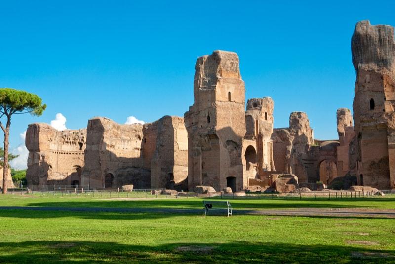 Caracalla-Thermen - Sehenswürdigkeiten in Rom
