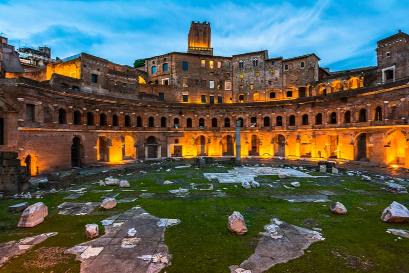 trajan's market Rome Attractions