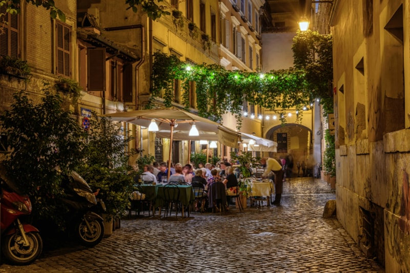 trastevere Rome Attractions