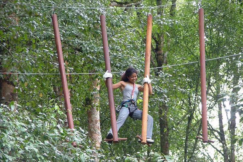 Treetop Adventure Park - Fun things to do in Bali