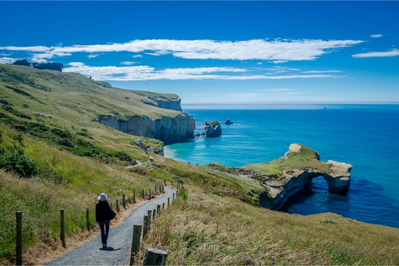 Tunnel Beach - Fun things to do in New Zealand