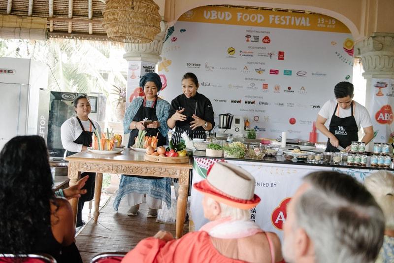 Ubud Food Festival - coisas para fazer em bali