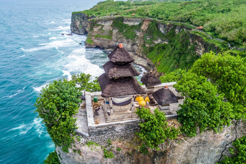 Temple d'Uluwatu - Choses à faire à Bali