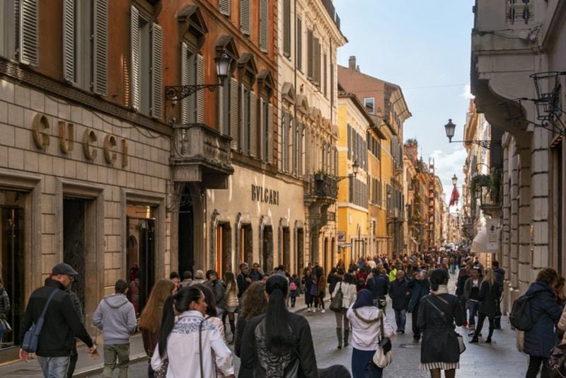 Via Condotti - Sehenswürdigkeiten in Rom