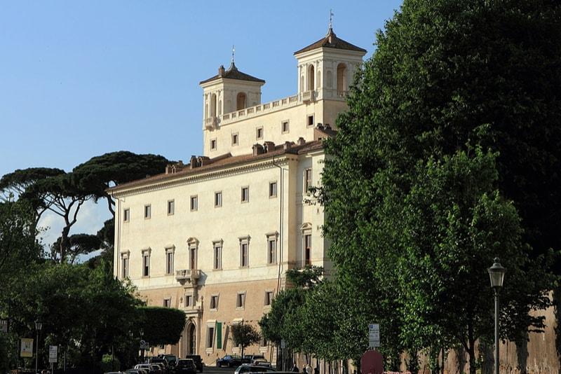 Villa Medici - Sehenswürdigkeiten in Rom