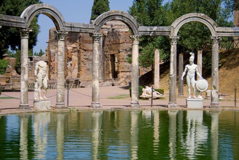 Villa adriana - Rom Sehenswürdigkeiten