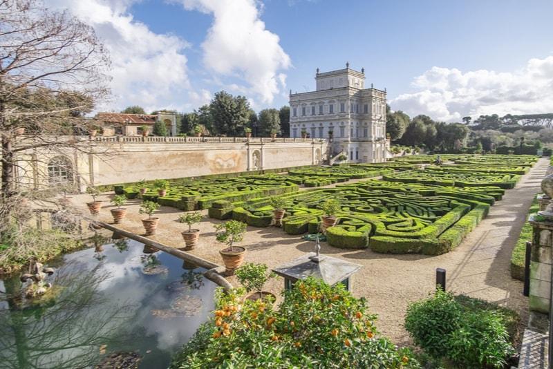 Villa Doria Pamphili - Rom Sehenswürdigkeiten