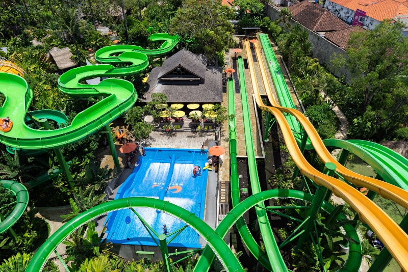 Waterbom Park - Coisas para fazer em Bali