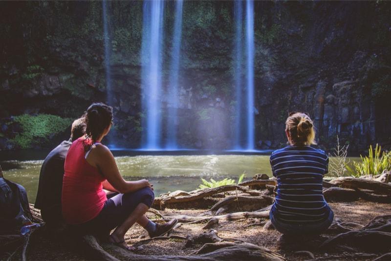 Waterfalls picnic - Fun things to do in New Zealand