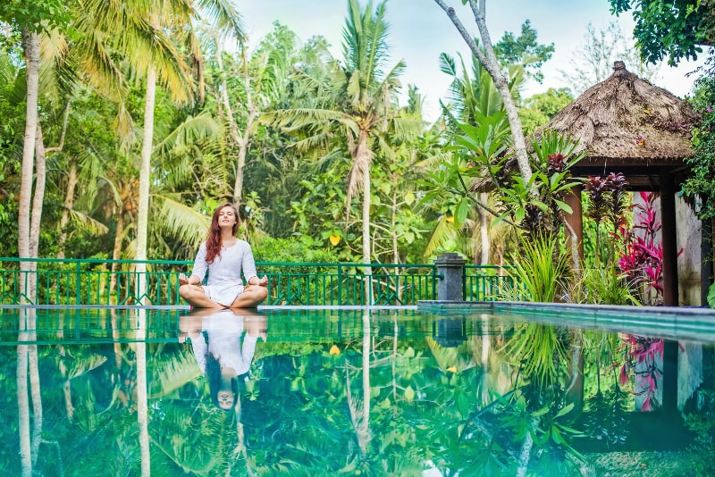 Yoga Class - Fun things to do in Bali