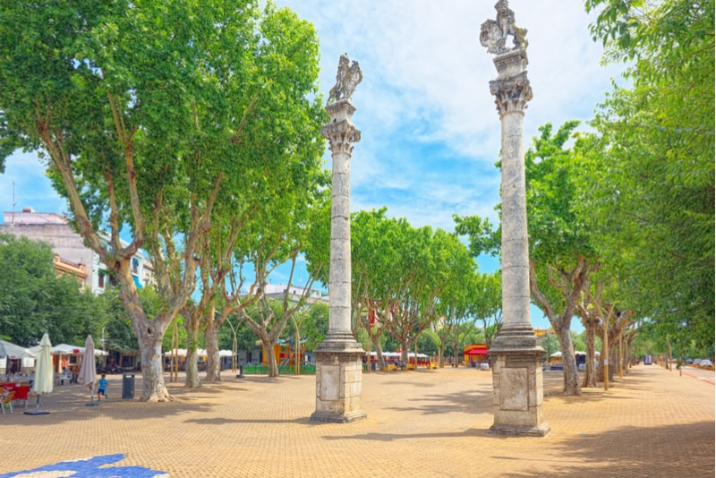 Alameda de Hercules - Sehenswürdigkeiten in Sevilla
