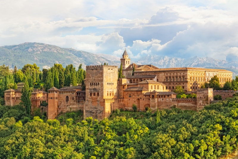 Alhambra Granada - Sehenswürdigkeiten in Sevilla