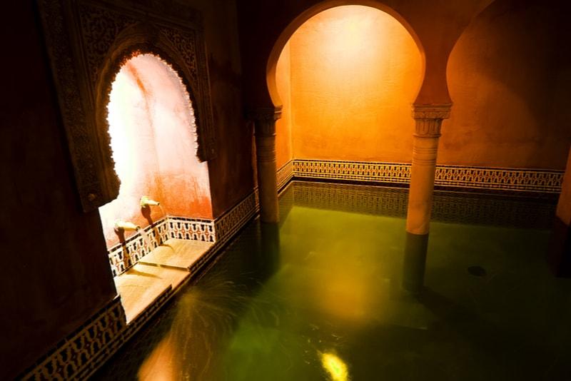 Arabisches Bad - Sehenswürdigkeiten in Sevilla