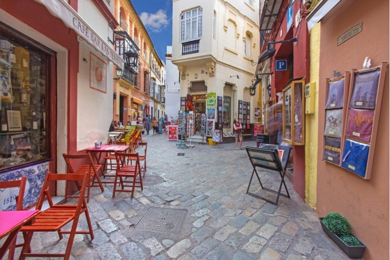 Barrio Santa Cruz - Sehenswürdigkeiten in Sevilla