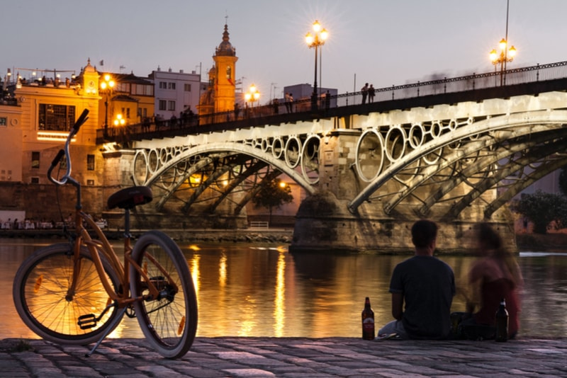 Bike River Sunset - Things to Do Seville