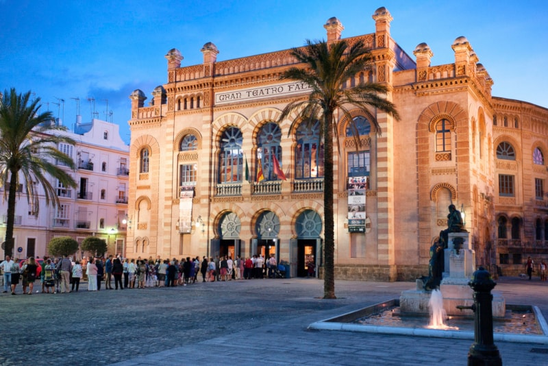 Falla Theatre - Things to Do in Cadiz