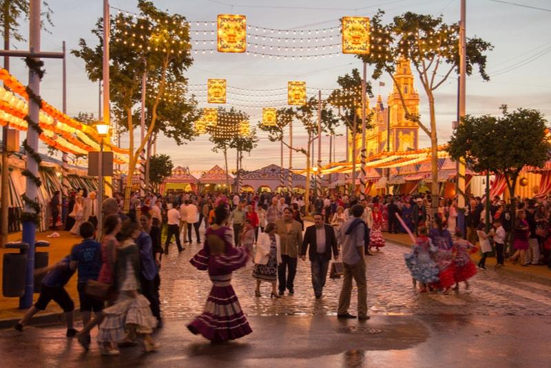 Feria de Abril - Sehenswürdigkeiten in Sevilla