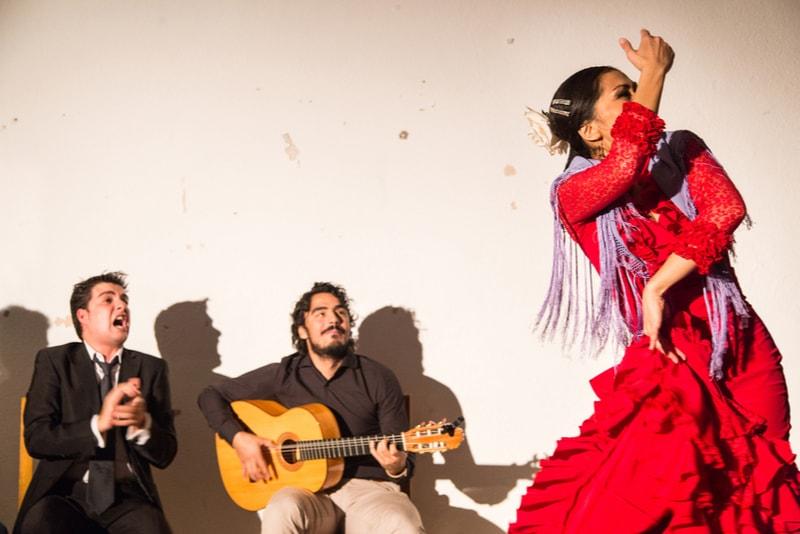 Flamenco Show - Sehenswürdigkeiten in Sevilla