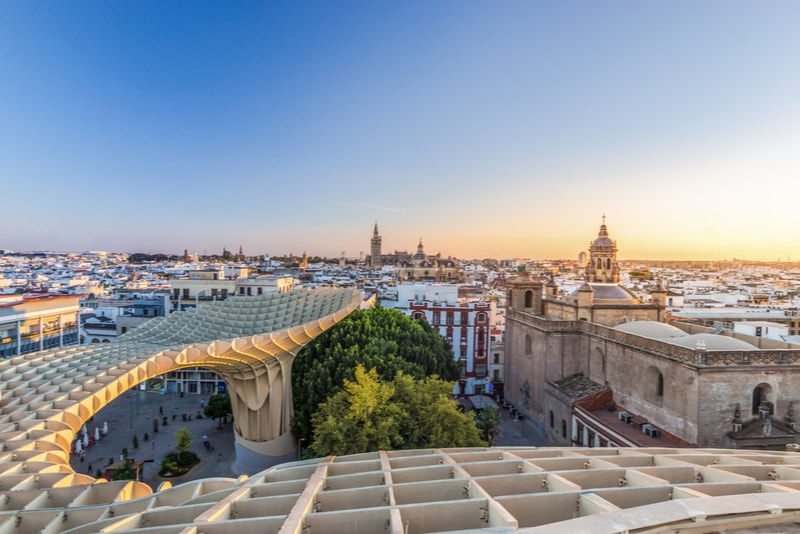 Las Setas Sunset - Things to Do Seville