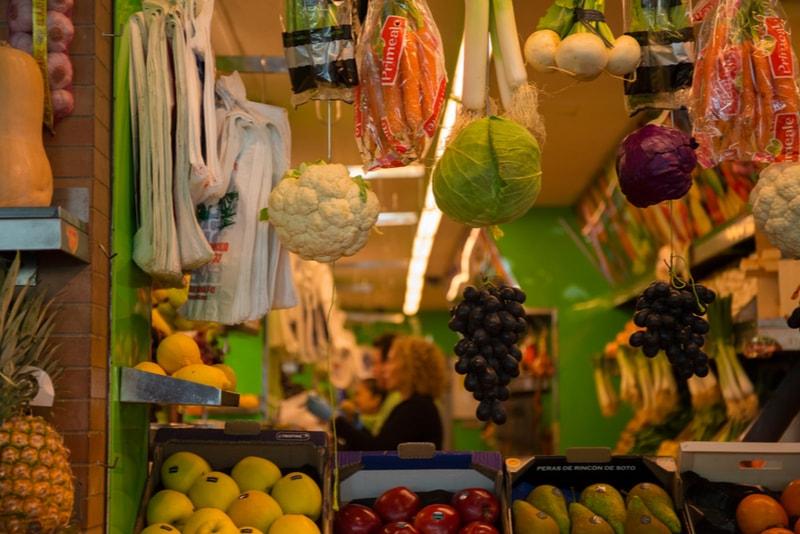 Marktnahrung - Sehenswürdigkeiten in Sevilla