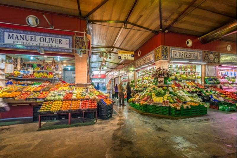 Triana Market - Sehenswürdigkeiten in Sevilla