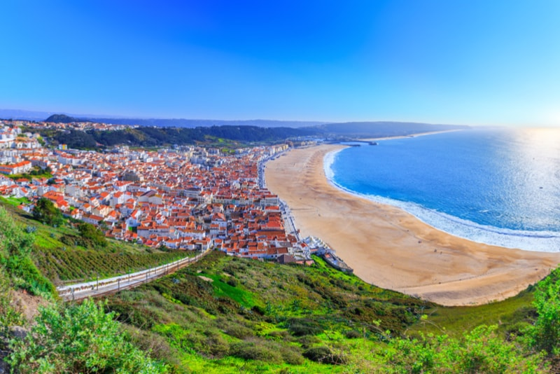 Nazaré - Best places to visit in Portugal