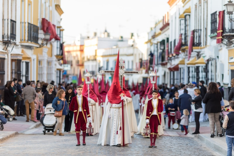 Semana Santa Procession - Sehenswürdigkeiten in Sevilla