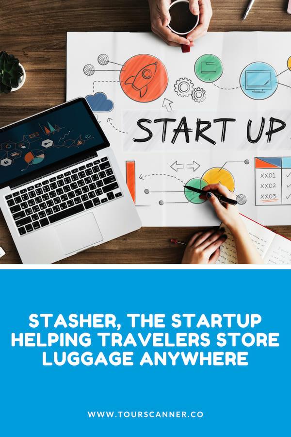 Stasher Startup Pinterest