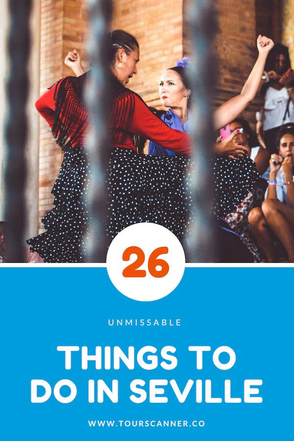 Things To Do Seville Pinterest
