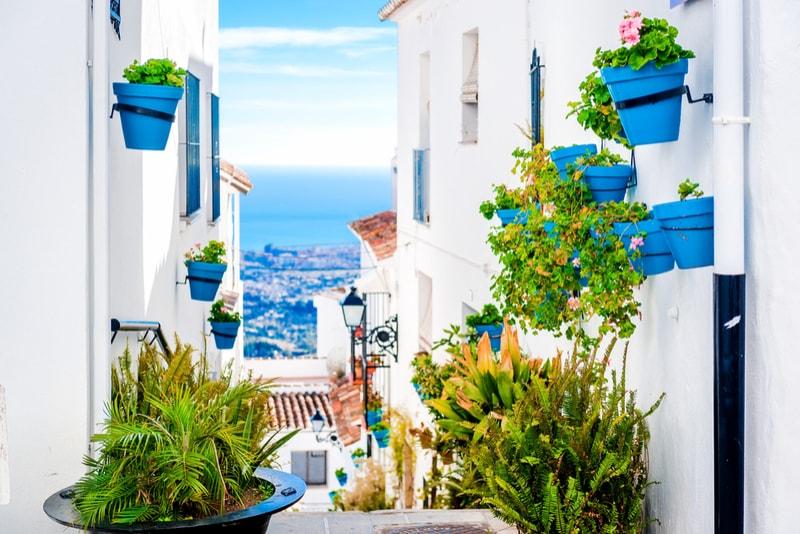Weiße Häuser Andalusien - Sehenswürdigkeiten in Sevilla