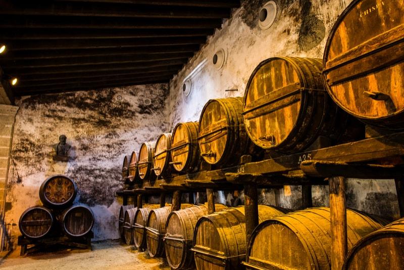 Weinkeller Jerez - Sehenswürdigkeiten in Sevilla