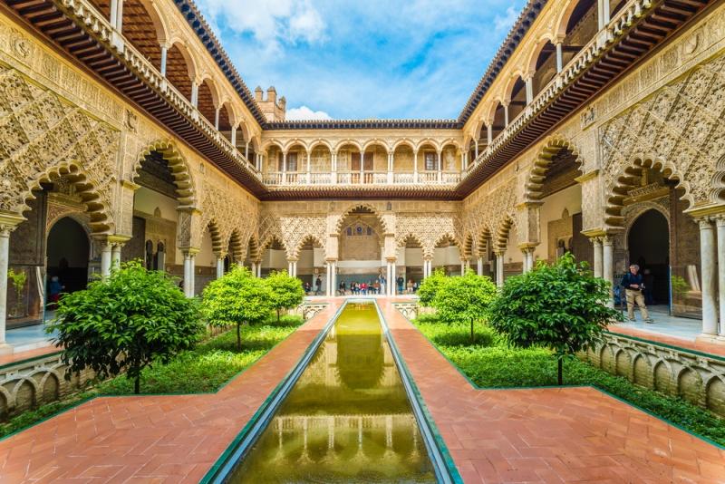 Real Alcazar Sevilla - Sehenswürdigkeiten in Sevilla