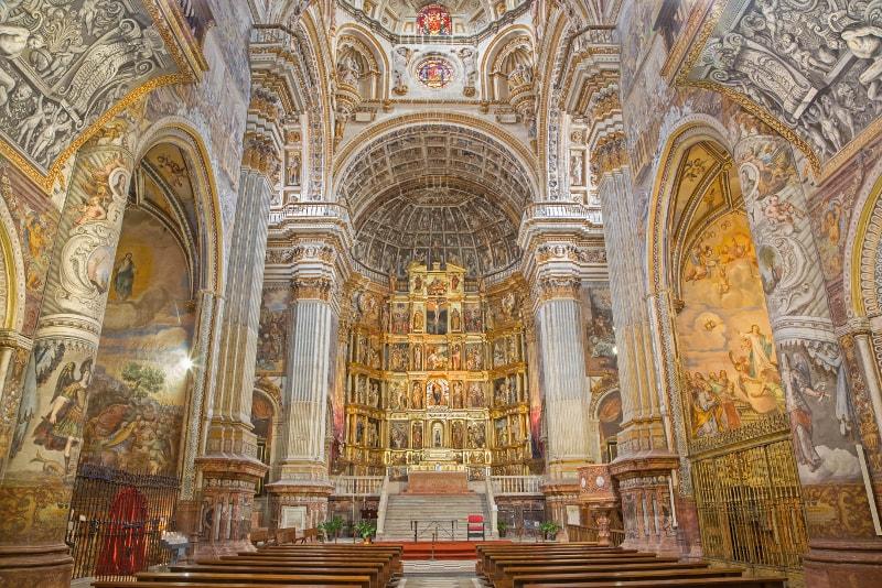 Monasterio San Jeronimo - Things to do in Granada
