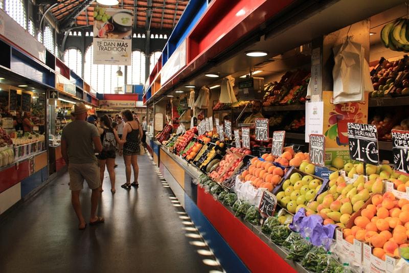 Ataranazas Markt - Sehenswürdigkeiten in Malaga