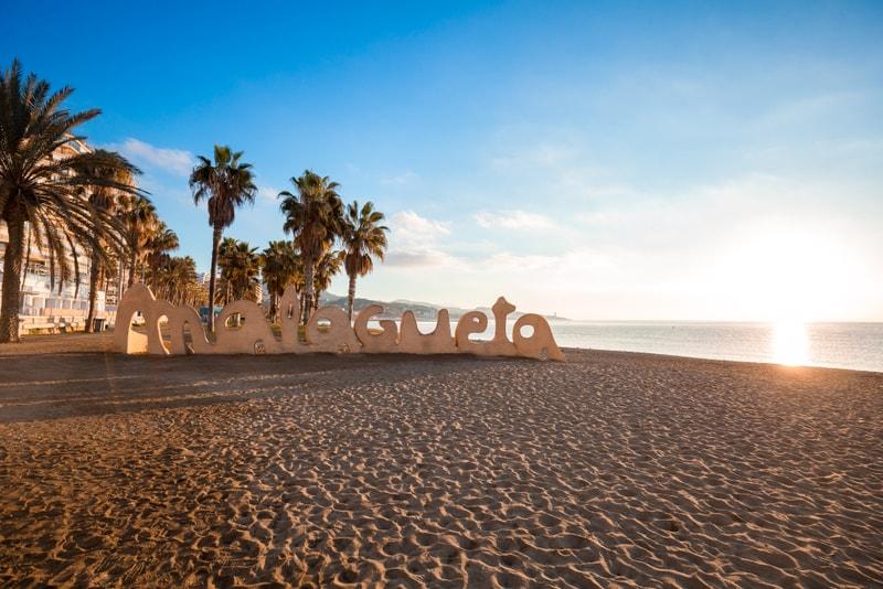 Playa de la Malagueta - Sehenswürdigkeiten in Malaga