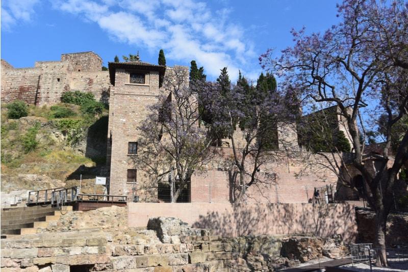 Castillo de Gibralfaro - Sehenswürdigkeiten in Malaga