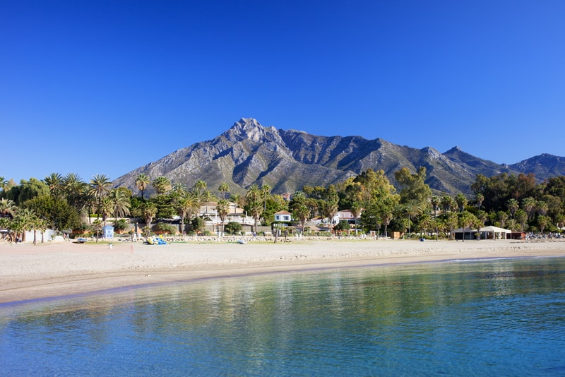 Marbella Beach - Aktivitäten in Malaga