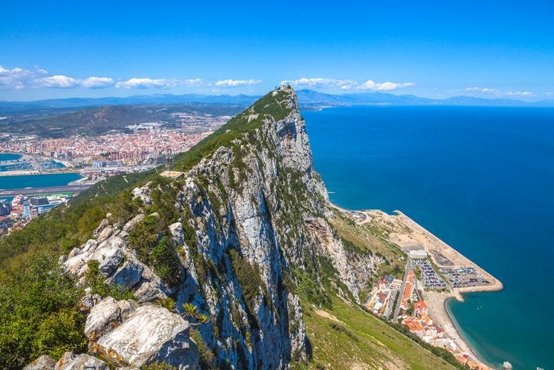 Gibraltar Rock - Sehenswürdigkeiten in Malaga
