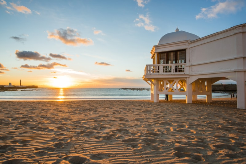 La Caleta Beach - Best Things to Do Cadiz