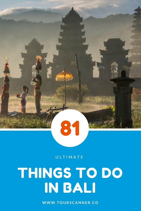 Coisas para fazer em Bali - Indonésia