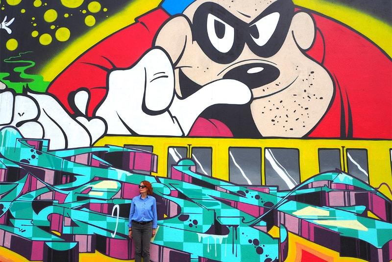 Street Art City, Lurcy-Lévis, (Allier) - A Taste of My Life