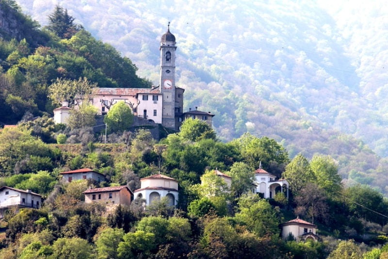 Sacred Mount of Ossuccio - things to do in Lake Como