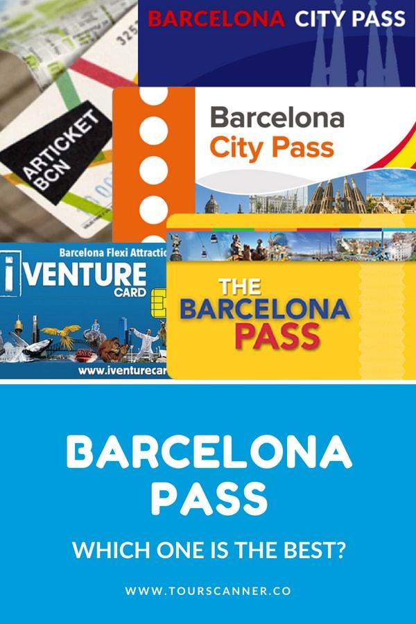 Barcelona Pass - Ça Vaut Le Coup - Pinterest