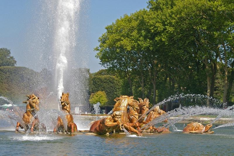Fontane musicali mostrano i biglietti di Versailles